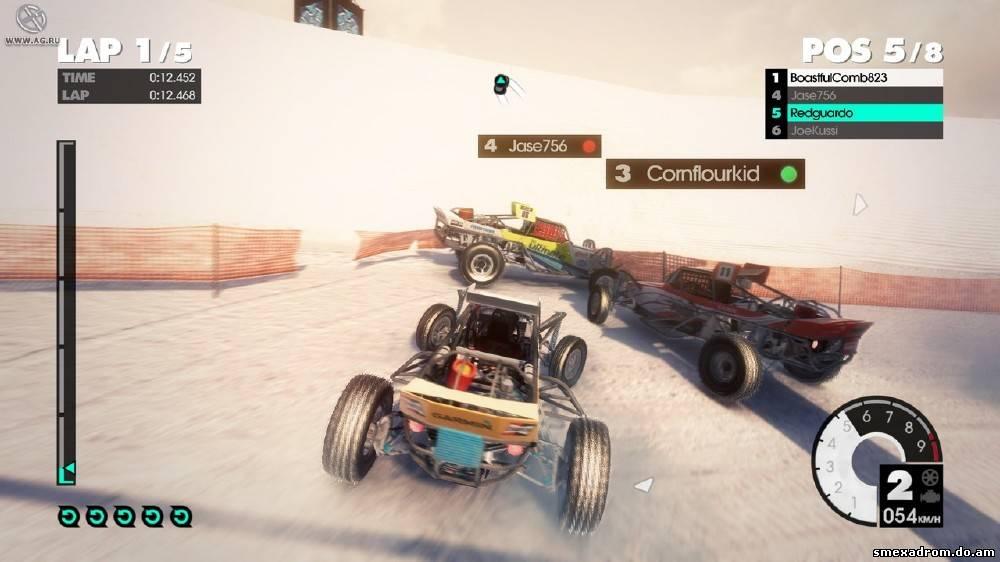 Дата выхода: 24 мая 2011 Жанр: Arcade, Racing Разработчик: Codemasters Изда